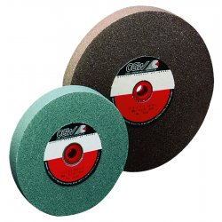 "CGW Abrasives - 38517 - 8""x1""x1-1/4"" T1 Gc80iv Bench Wheel, Ea"