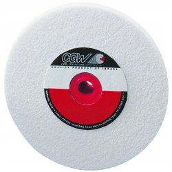 CGW Abrasives - 38706 - 8x1x1 T1 Wa120kv Bench Wheel Premium Grain, Ea