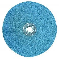CGW Abrasives - 48824 - 7 X 5/8-11 Zirk 50 Grit- Only Flat Resin Fibre, Ea