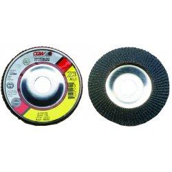 CGW Abrasives - 52335 - 4 1/2 X 5/8-11 Z3-80 T29 Reg Za Alu Flap Disc, Ea