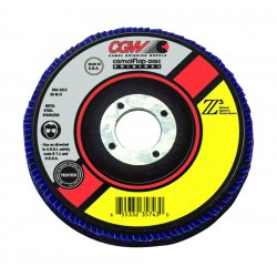 CGW Abrasives - 54004 - 4-1/2x7/8 Z3-60 T27 Ultimate Flap Disc, Ea