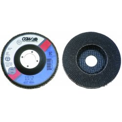 CGW Abrasives - 56016 - 4-1/2x7/8 Sc-120 T27 Regsilicon Carbide Flap Di, Ea