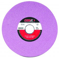 CGW Abrasives - 58040 - 12x2x5 R/2-71/2x1/2 Pa46-i8-v Toolroom Wheel, Ea