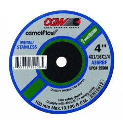 CGW Abrasives - 59108 - 4x1/16x3/8 T1 A36-r-bf Fast Cut 50pcs
