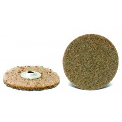 "CGW Abrasives - 59616 - 3"" T/o A Very Fine Non Woven Quick Change Disc"