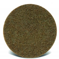 "CGW Abrasives - 70022 - 7"" Hook & Loop Extra Coarse - Brown"