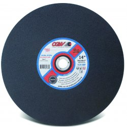 CGW Abrasives - 70109 - 20 X 3/16 X 1 A24-r-bf Stationary Saw Blade