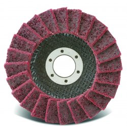 CGW Abrasives - 70122 - 4.5x7/8 Surface Cond. Non Woven Flap Disc Med