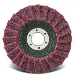 CGW Abrasives - 70125 - 4.5x7/8-11 Surface Cond.non Woven Flap Dsc Fine
