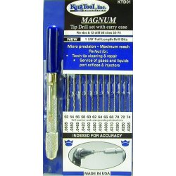 King Tool - KTD01 - Ki Ktd01 Magnum Tip Drill Set