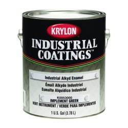 Krylon - K00530101-16 - Gloss Safety Red Enamel Paint, 1 gal.