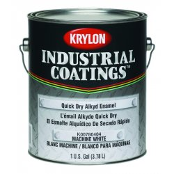 Krylon - K00780113-16 - Gloss Black Quick Dry Alkyd Enamel Paint 1 Gal.
