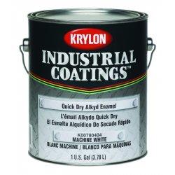 Krylon - K00780464-16 - Flat Black Quick Dry Alkyd 1 Gal.