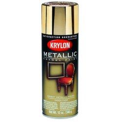 Krylon - K01404 - Metallic Metallic Spray Paint in Metallic Chrome Aluminum for Ceramic, Glass, Metal, Plaster, Wood,