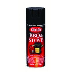 Krylon - K01618 - Krylon Products Group 16 Ounce Aerosol Can Black High Heat Barbeque And Stove Paint