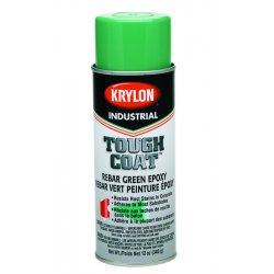 Krylon - K01732000 - Rebar Green Epoxy 16 Oz(12 Oz Fill)