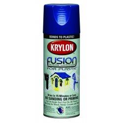 Krylon - K02326001 - 12 Oz Navy Fusion Paintfor Plastic