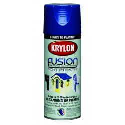 Krylon - K02329001 - 12 Oz Patriotic Blue Fusion Paint For Plastic