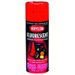 Krylon - K03106 - Spray Paint in Gloss Fluorescent Green for Ceramic, Fabric, Metal, Paper, Plaster, Plastic, Wood, 11