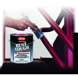 Krylon - K00771 - Semi-gloss Black Rust Tough Alkyd Enamel Bulk