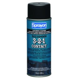 Sprayon - S02204000 - 3-2-1 Contact Cleaners (Case of 12)