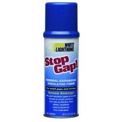 White Lightning - WL1111100 - 12 oz. Window and Door Insulating Spray Foam Sealant, Tan