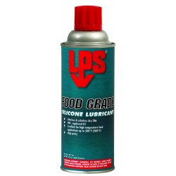 LPS Labs / ITW - 01716 - Food Grade Silicone Lubricant w/Detex(TM), 16 oz. Container Size, 10 oz. Net Weight