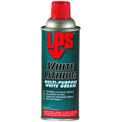 LPS Labs - 03816 - White Lithium Multipurpose Grease, 16 oz., NLGI Grade: 2