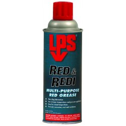 LPS Labs - 05816 - Red & Redi Red Clay Multipurpose Grease, 16 oz., NLGI Grade: 2