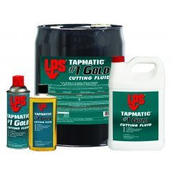 LPS Labs - 40360 - Tapmatic #1 Gold Cutting Fluids (Each (55US Gal))