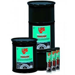 LPS Labs - 70106 - White Aluminum Complex Food Lube Bearing Grease, 35 lb., NLGI Grade: 2
