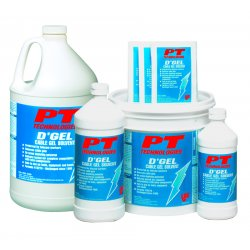 PT Technologies - 61244 - D'gel Cable Cleaner Wipes 144 Per Case
