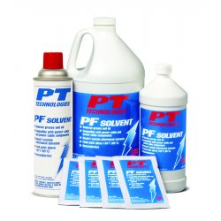 PT Technologies - 61410 - Pf Solvent Degreaser Wet/dry Wipes Tandem Pack