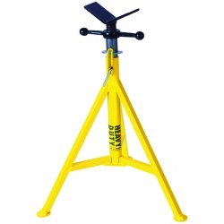 """Sumner - 780375 - Sumner Manufacturing Company ST-801 28"""" - 49"""" Heavy Duty High Jack Pipe Stand With Vee Head"""