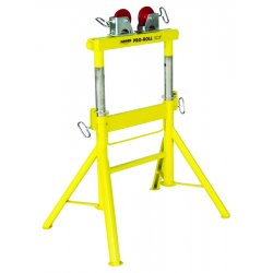 "Sumner - 780441 - Roller Head Pipe Stand, 1/2 to 36"" Pipe Capacity, 29"" to 43"" Overall Height, 2000 lb. Load Capacity"