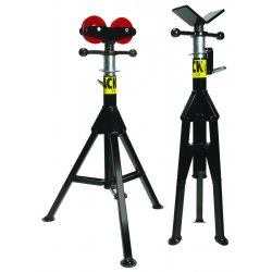 "Sumner - 781300 - V-Head Pipe Stand, 24"" Pipe Capacity, 28"" to 49"" Overall Height, 2500 lb. Load Capacity"