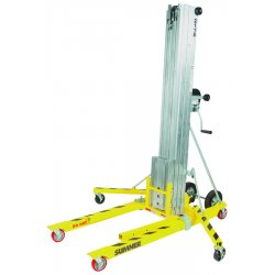 Sumner - 783651 - Sumner 2118 18' 650 Pound Contractor Lift With Reversible Forks, Loading Bar And Lockable Casters, ( Each )