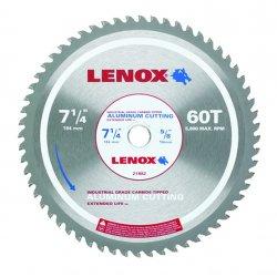 "Lenox - 21882AL714060CT - 7-1/4"" 60t Aluminum Metal Cutting Saw Blade"