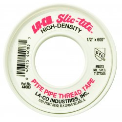 "Markal - 44081 - 1/4""x600' Slic-tite Thread Tape Of Teflon H, Ea"