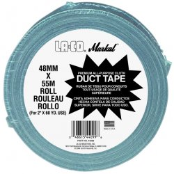 "Markal - 434-44099 - Duct Tape. 2"" x 60yd, Silver Gray"