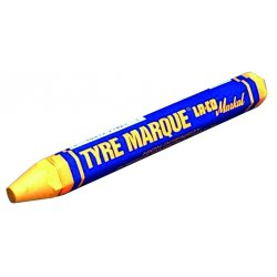 Markal - 51421 - Yellow Tyre Marque Crayon Rubber Mark