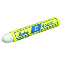 Markal - 80820 - White C Paintstik Marker, Ea