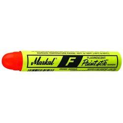 Markal - 82831 - Yellow F Paintstik Fluorescent Marker, Ea