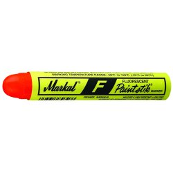 Markal - 434-82832 - F Fluorescent Red Paintstik Marker, Ea