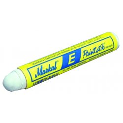 Markal - 88620 - Solid Paint Marker, White, 1/2 in. Tip