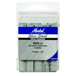 Markal - 96002 - Ma 96002 S.s.flat Mark.refills(100/pk)