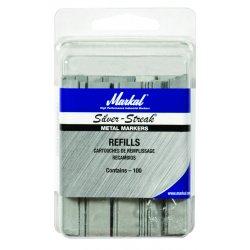 Markal - 434-96018 - Silver-Streak Fineline Metal Marker Refill