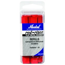 Markal - 96019 - Welders Marker with Medium Tip Size, Red