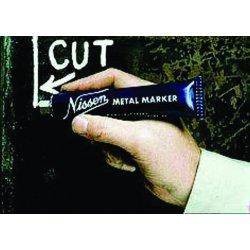 """Nissen - 436-00200 - Metal Marker, 5/64"""", Regular White, Ballpoint"""