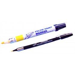 Nissen - 436-00350 - Feltip Paint Marker, White, Medium